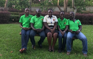 office Team of Active African Vacations